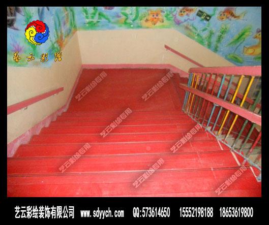 幼儿园楼梯整体止滑板地垫
